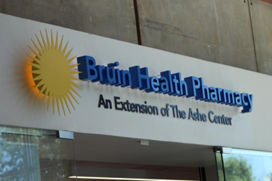Front of Bruin Health Pharmacy